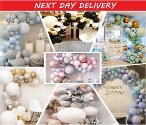 167Pcs Latex Balloon Garland Arch Kit Birthday Wedding Baby Shower Party Decor