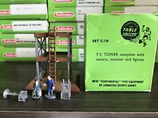 Subbuteo Accessories -  C110 TV Tower Set. Boxed. Lovely Condition Vintage