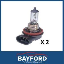 H11 HEADLIGHT GLOBE FOG 2 PACK 12V 55W CAR HEAD LIGHT LAMP BULB
