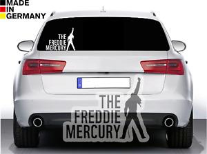 1x THE FREDDIE MERCURY Aufkleber Auto Sticker Silhouette Kult Portrait Musiker