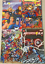 JLA & AVENGERS#1-4 VF/NM LOT 2003 DC/MARVEL COMICS