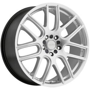 "Vision 426 Cross 17x7.5 5x100/5x4.5"" +38mm Silver Wheel Rim 17"" Inch"