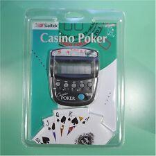 NEW Saitek Casino LCD Poker Game ++FREE SHIP!