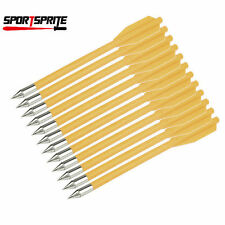 12pcs Set Replacement Arrows Bolts Plastic Darts Crossbow Mini Bow Hunting