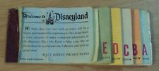 VTG JUNE 1975 'DISNEYLAND Ticket Booklet'~AMERICA on Parade~10 of 13 Intact~