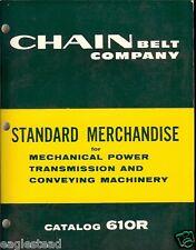 Equipment Catalog - Chain Belt - Mechanical Power Transmission Conveying (E1760)