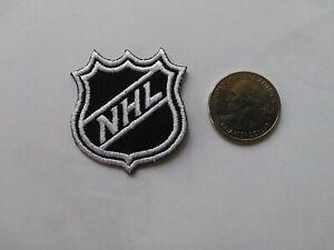 NHL LOGO SHIELD SMALL JERSEY CAP JACKET VEST SHIRT HOODIE COLLAR HOCKEY PATCH