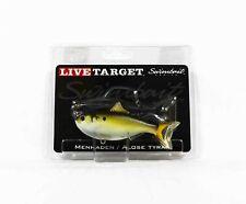 Live Target MHS90MS630 Swimbait Menhaden 3.5 Inch Bronze (0392)