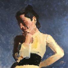 Original Jeffrey Lloyd Barnes Contemporary Realism Figure Painting
