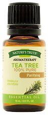 Nature's Truth Aromatherapy 100% Pure Essential Oil, Tea Tree .51 oz