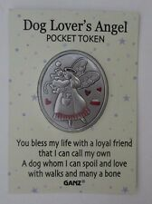 bb Dog lover loyal friend love spoil EVERYBODY'S ANGEL POCKET TOKEN charm