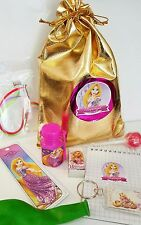 The Rapunzel loot/party bag with 8 items inside, great value