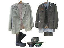 Lot uniforme uniform pantalon chemise parade uniform schrimmütze Bottes NVA Boutons
