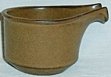 Fabrik Pottery Creamer AGATE PASS  Brown Stoneware 2.5""