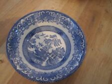 Blue Vintage Original 1960-1979 Staffordshire Pottery