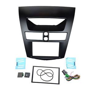 Radio Fascia for Mazda BT-50 2012+ Double Din Stereo Panel Trim Kit Frame