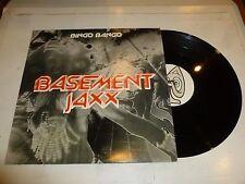 """BASEMENT JAXX - Bingo Bango - 2000 UK 3-track 12"""" vinyl single"""