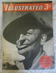 WW2 Vintage Illustrated Magazine-March 9th 1940 No. 2. Vol II