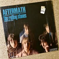 """THE ROLLING STONES """"Aftermath"""" -- 1976 LP First Pressing Orig. Shrink Wrap -Xlnt"""