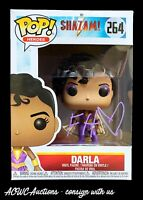 Funko POP! - Heroes - Shazam! - Darla - Signed by Faithe Herman - JSA Cert.