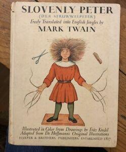 1935 Heinrich Hoffmann - Slovenly Peter der Struwwelpeter - Second Edition
