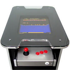 Classy Black and Silver Arcade Machine - 60 Retro Arcade Games - Free Shipping