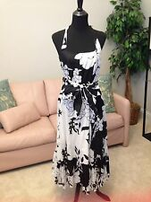 White House Black Market Halter Dress, Size 6