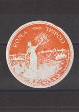 Italian Poster Stamp Rome Tripoli Ships