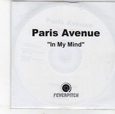 (EH216) Paris Avenue, In My Mind - DJ CD