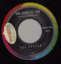 HEAR! Latin Jazz 45 LOS ARAGON Ven Amorcito Ven on Musart