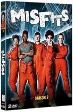 31564// MISFITS SAISON 2 COFFRET 2 DVD NEUF SOUS BLISTER