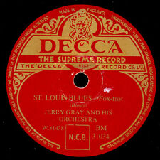 Jerry Gray & his Orch. ST. Louis Blues/JEEP jockey Jump gomma lacca x1866