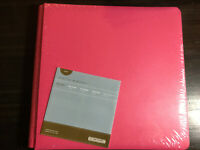 Hot Pink Creative Memories 12x12 Album Scrapbook Cover Set True New Style