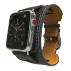 Luxury Leather Single Tour Band Strap Bracelet Belt For iwatch Apple Watch 38/42