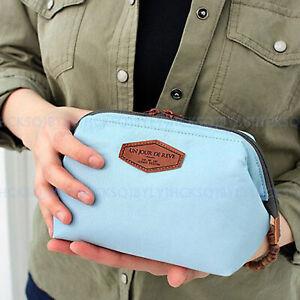 Korea  Trend Soft Cotton Makeup Bags Portable Travel Wash Storage bag Organizer