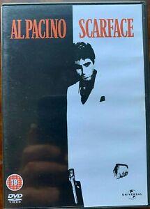 Scarface DVD 1983 Al Pacino Drogue Trafiquant Gangster Film Classique