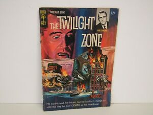 Gold Key-1965-#13-The Twilight Zone-Rod Serling-Double Cover-Comic-VG/VF