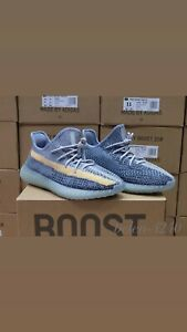 adidas Yeezy Boost 350 V2 Ash Blue 2021 7-11 US (write about size to email)