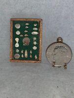 RARE Vintage Dollhouse Miniature ARTISAN Jean Rohall SEASHELL SHADOWBOX Signed