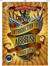 Introduction To Airbrush Painting DVD Debbie Eastlack Airbrush Action Beginner