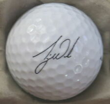 (1) TIGER WOODS SIGNATURE LOGO GOLF BALL ( TITLEIST - WHEATIES)