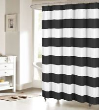Striped Fabric Shower Curtains