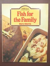 Vintage Cook Book FISH FOR THE FAMILY Recipes Cookery RETRO St Michael 1980s