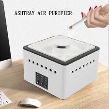 Smokeless Ashtray Air Purifier Carbon Filter Absorbs Smoke Odor Pm2.5 Eliminator