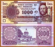 Paraguay, 1,000 (1000) Guaranies 2005, Pick 222b, UNC