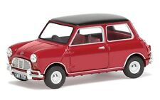 Corgi Vanguards 1:43 Mini Cooper S Mk1, Tartan Red & Black, Die-cast Model