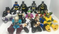 "Imaginext DC Universe 3"" Figures  (Lot Of 13) Batman Bane Joker Robin Freeze"