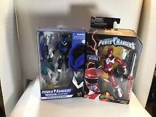 Power Rangers Red Ranger 2018 Blue Ranger 2019