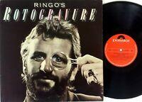 Ringo Starr – Ringo's Rotogravure - Australian Vinyl LP 1976 Polydor-2310 473
