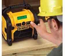 Dewalt Heavy-Duty Lithium-Ion Corded/Cordless USB Port Compact Worksite Radio